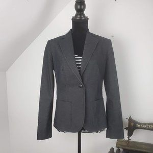 Adrienne Vittadini  One Button Fitted Blazer